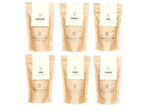 Balíček výběrových zrnkových káv 6ks - 600g BLNC956 BYLINCA