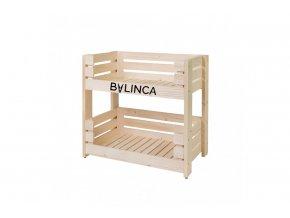 Regál dřevěný 60 x 64 x 39 cm BLNC983 BYLINCA