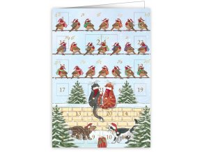 Přání adventní kalendář 6373 QP
