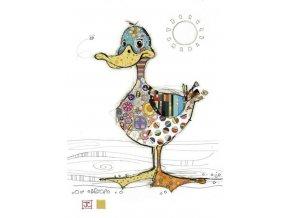 G001 Dotty Duck 400x561
