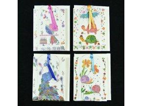 Mini přání Bookmarks