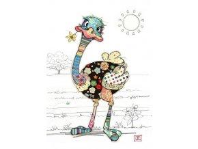G012 Ozzie Ostrich 400x563