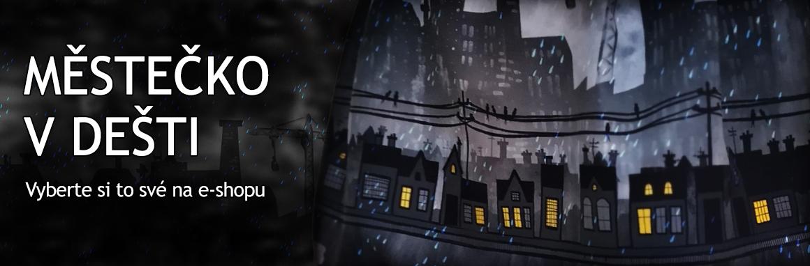 Město v dešti