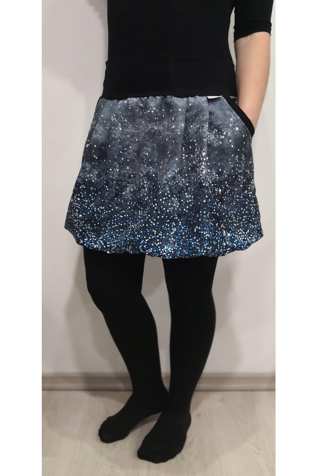 balonova sukne puntiky modre papilio clothing (2)