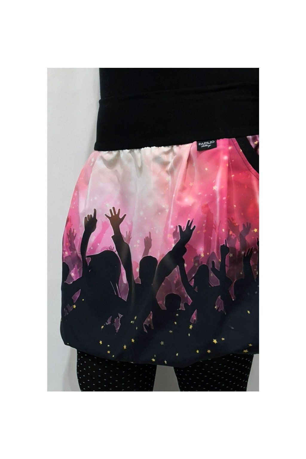 Balonová sukně Párty... růžová | micropeach