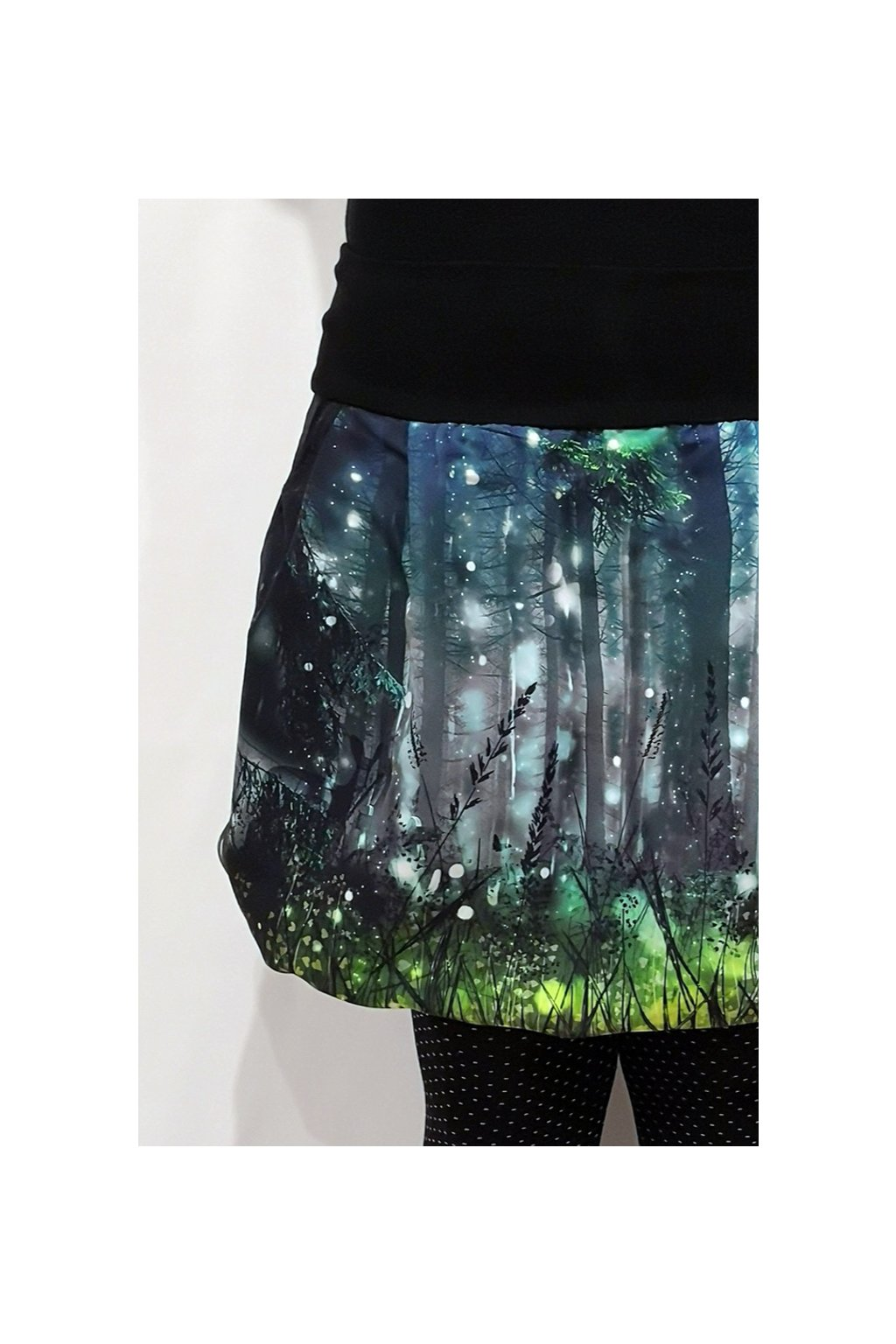 Balonová sukně Kouzelný les | micropeach