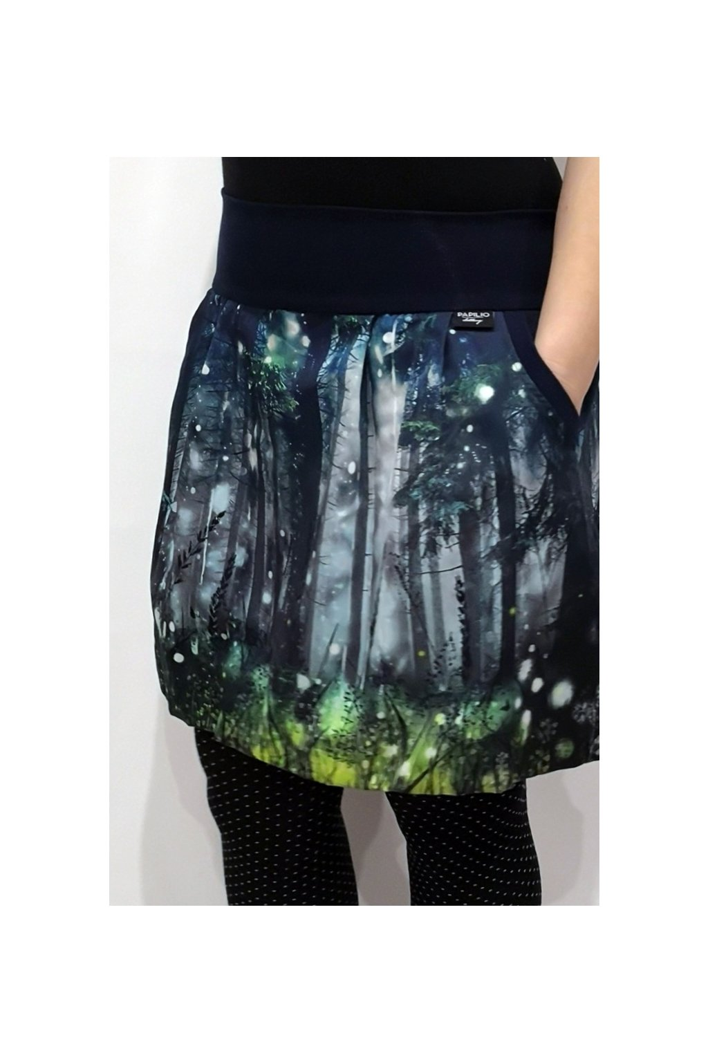Balonová sukně Kouzelný les | plátno