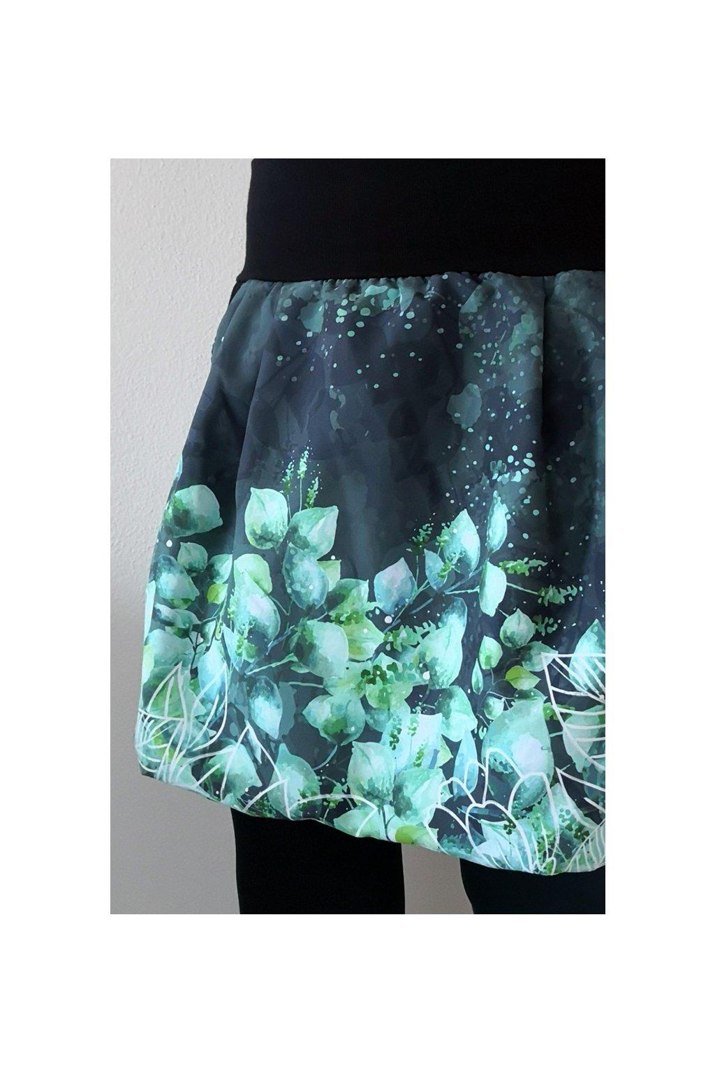 Balonová sukně Eukalyptus | micropeach