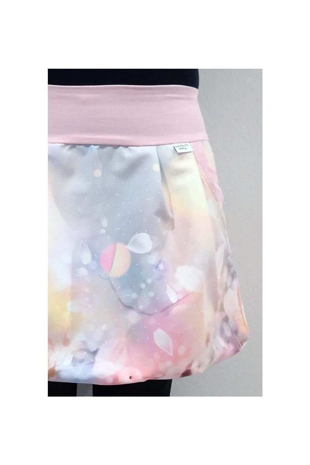 Balonová sukně Něžná jarní | micropeach