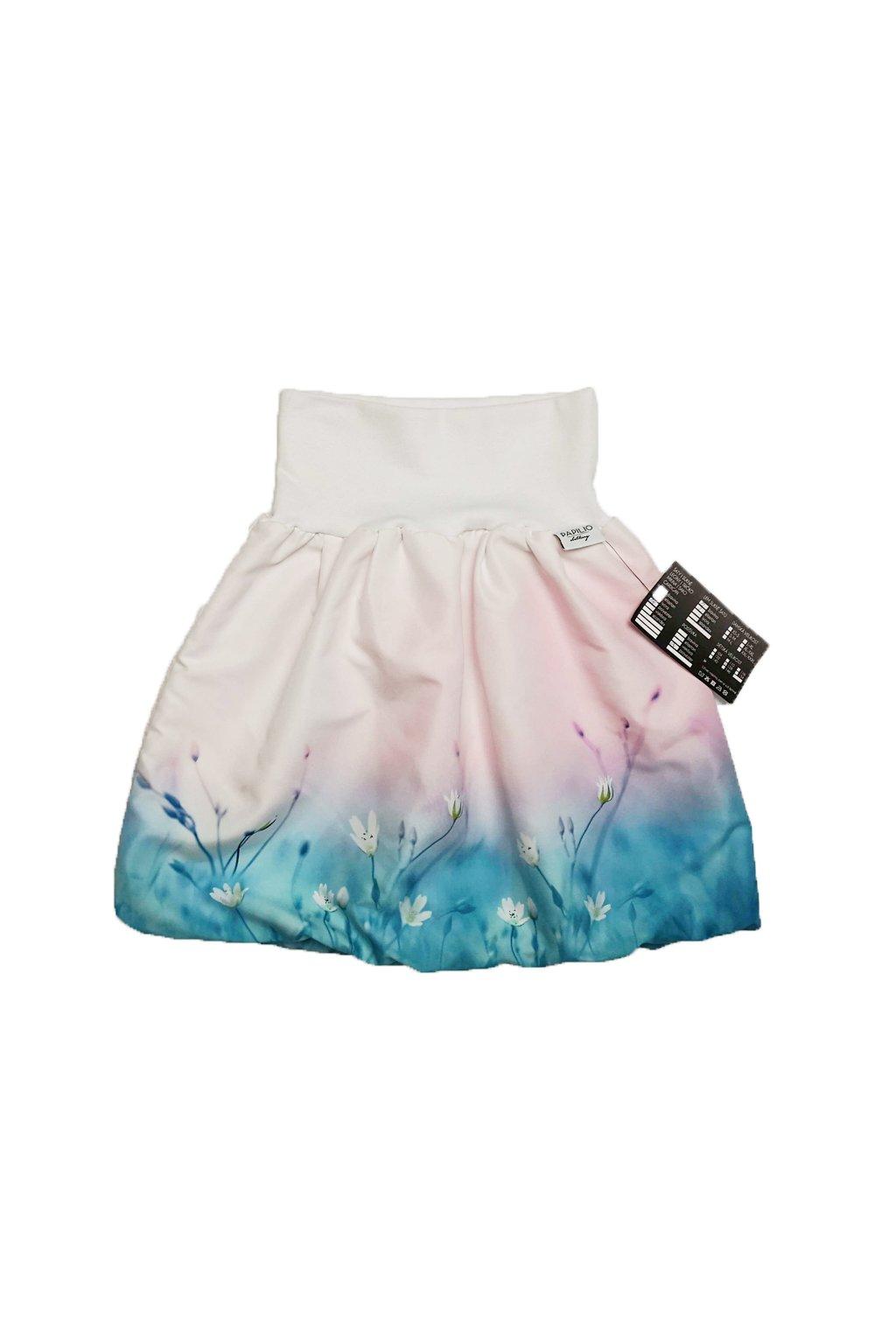 Dívčí sukně - Kvítek v mlze | micropeach