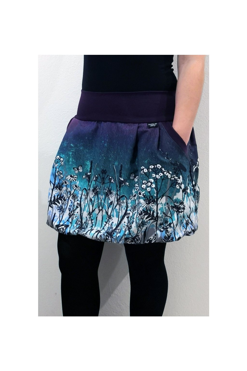 Balonová sukně Vážky | micropeach
