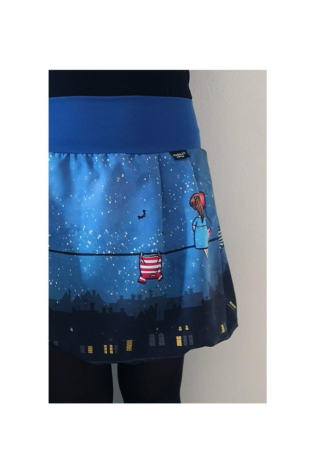 Balonová sukně Na šňůře | micropeach
