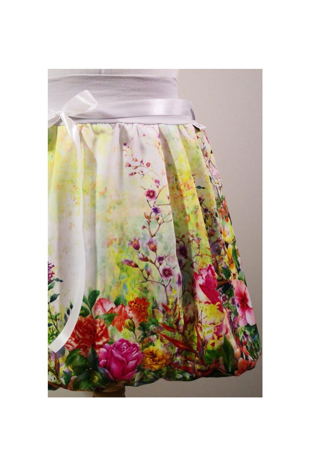 Rozkvetlá zahrada  | polyester