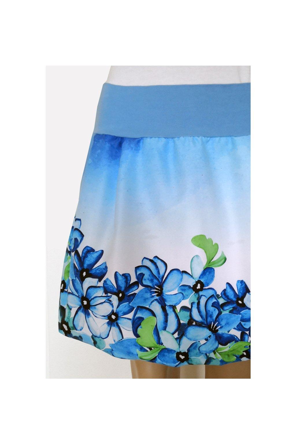 SKLAD - Balonová sukně Fialky | micropeach