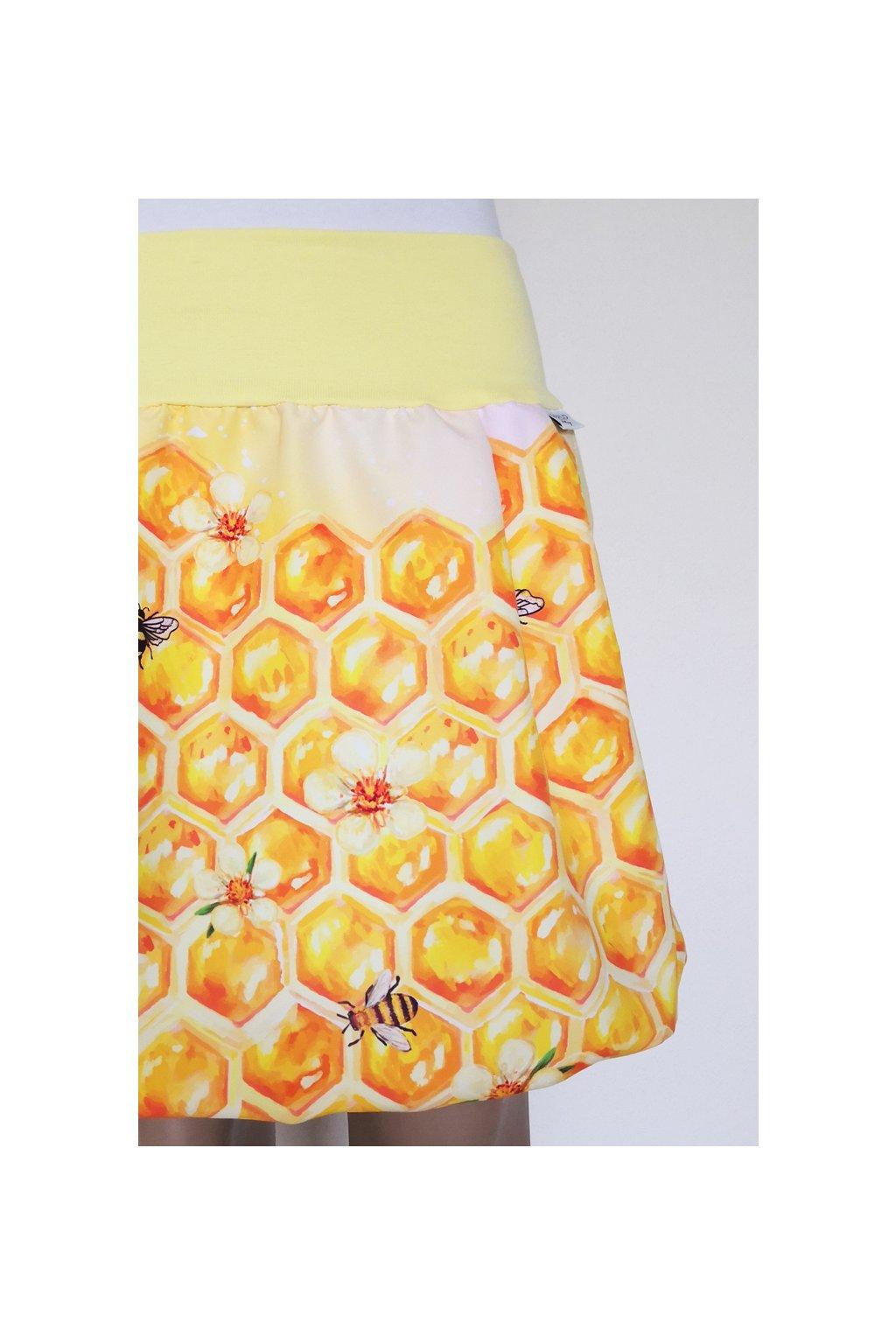 Balonová sukně Medová | micropeach