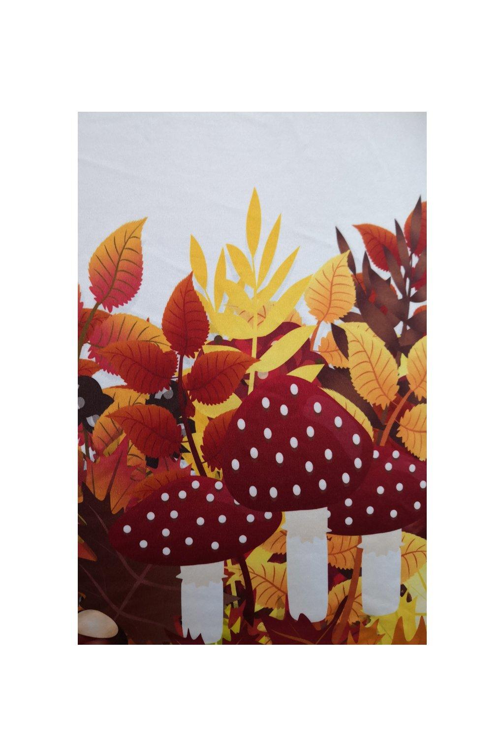 Sukně na míru Podzim v listí | úplet