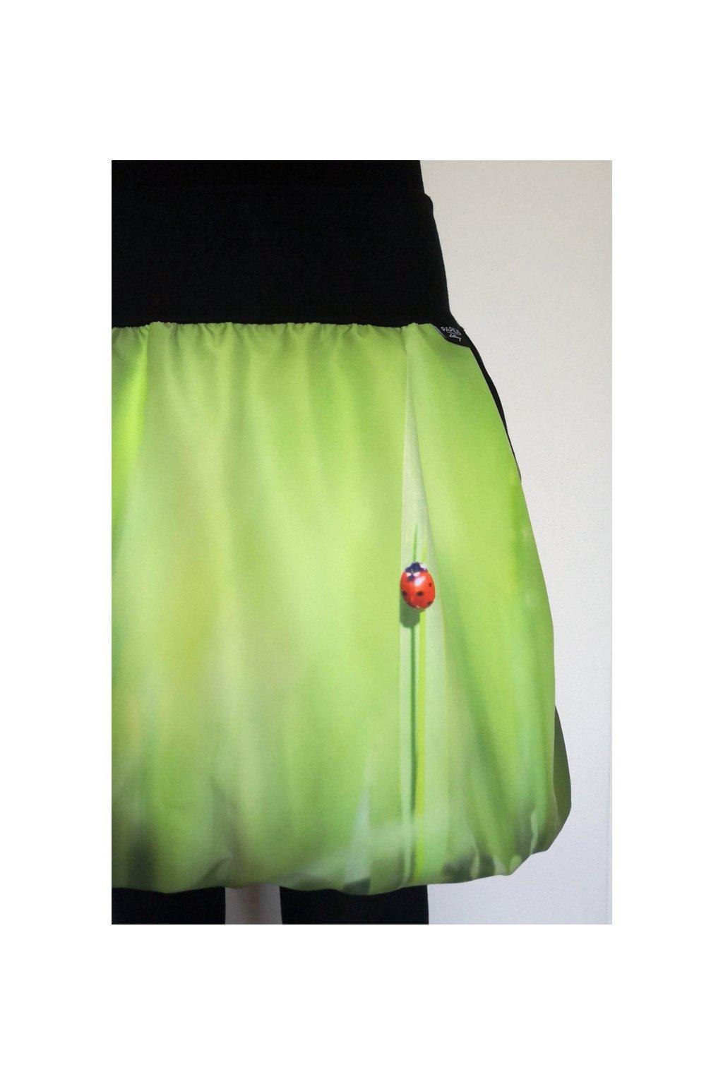 Balonová sukně Beruška | micropeach
