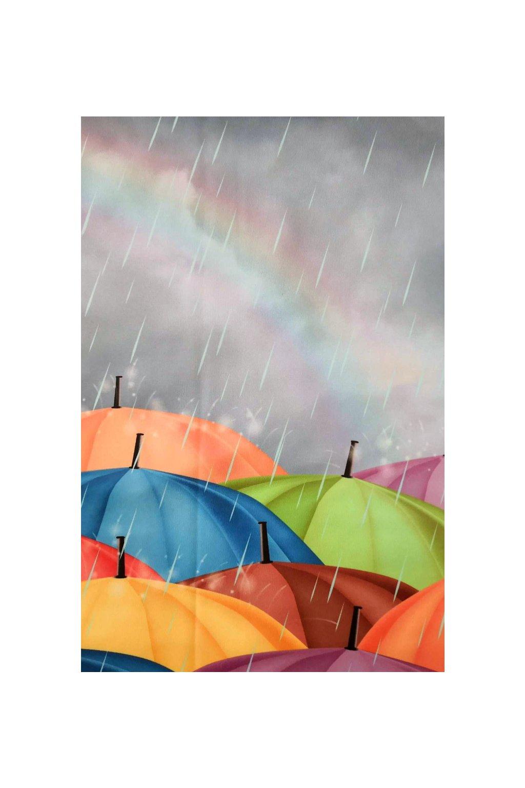 Sukně na míru Kamarádka do deště II. | úplet