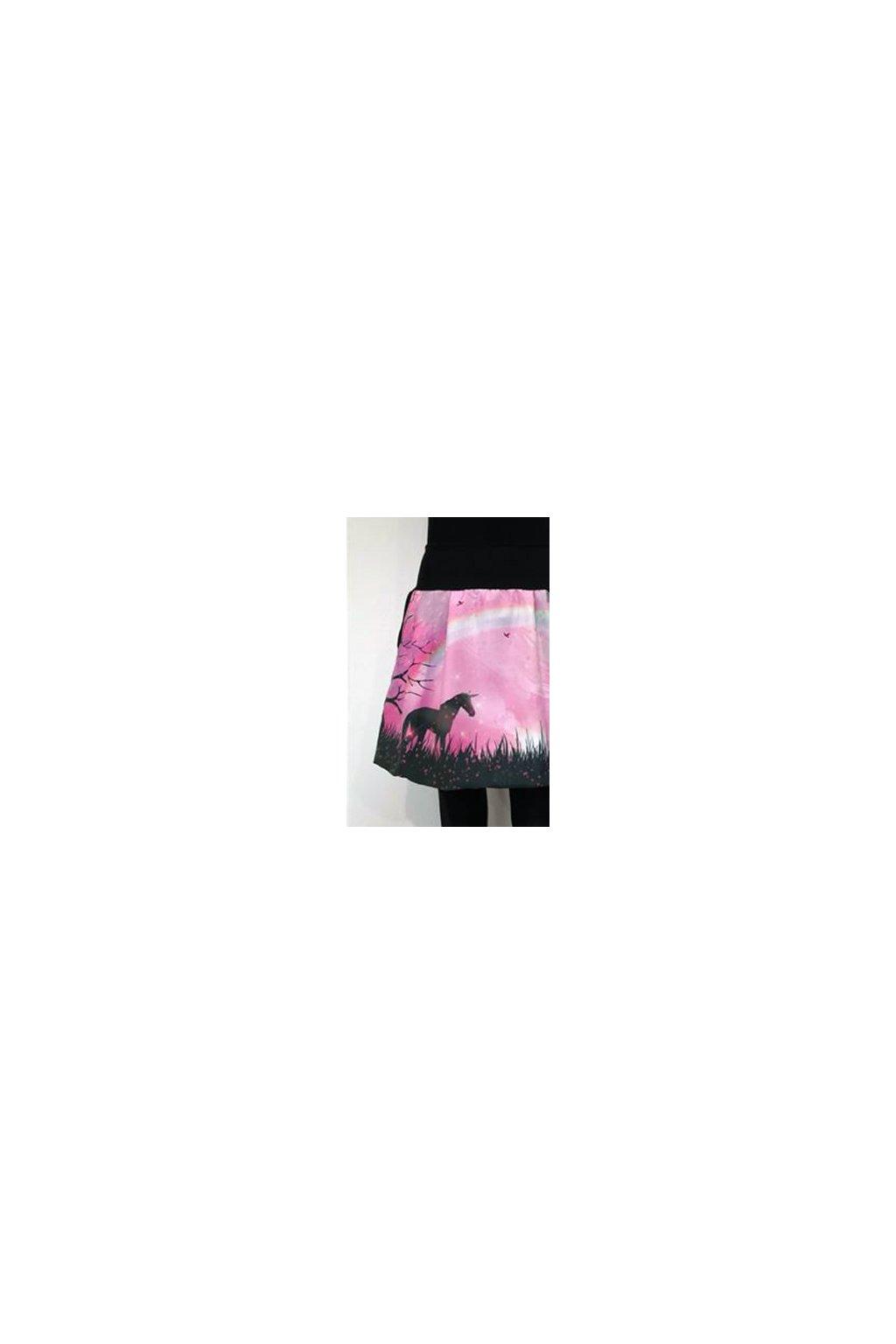 Balonová sukně Jednorožec | micropeach