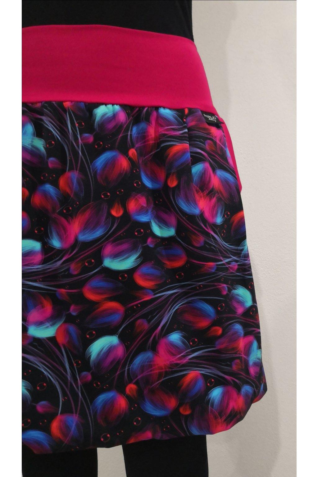 balonova sukne barevne chmiri papilio clothing (2)