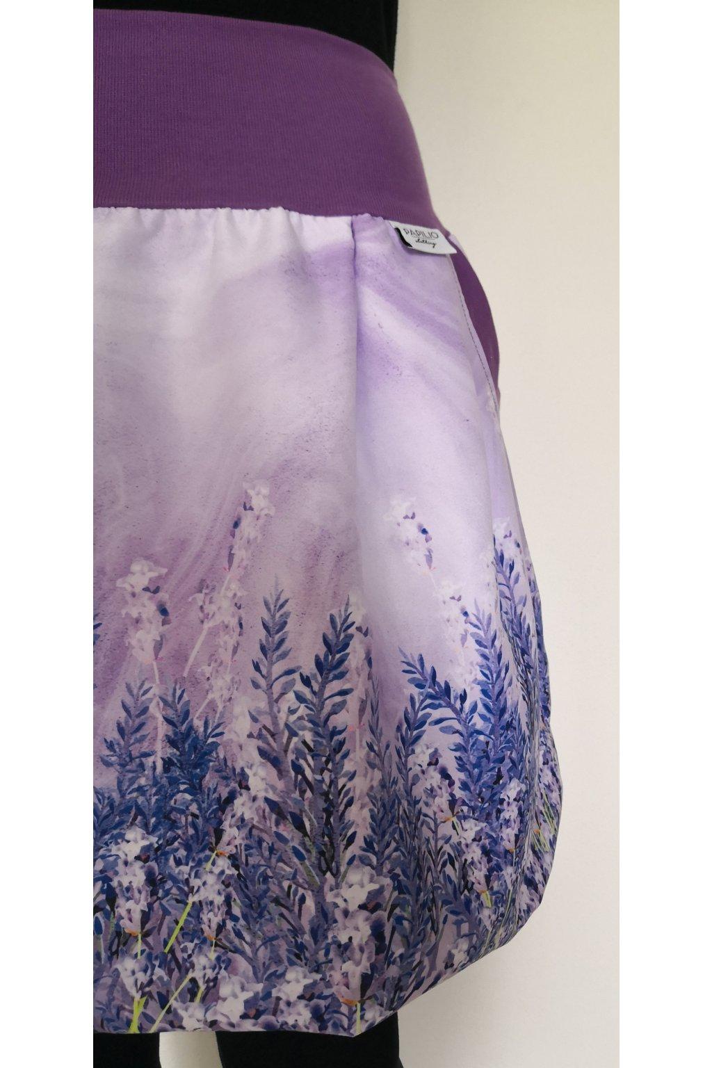 balonova sukne levandule papilio clothing 1