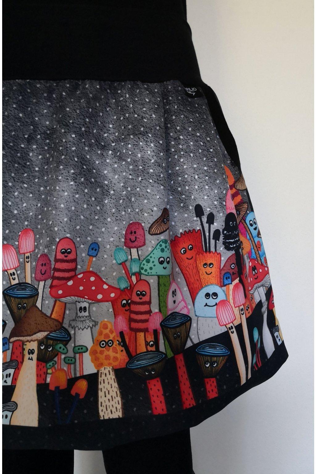 balonova sukne houby papilio clothing (4)