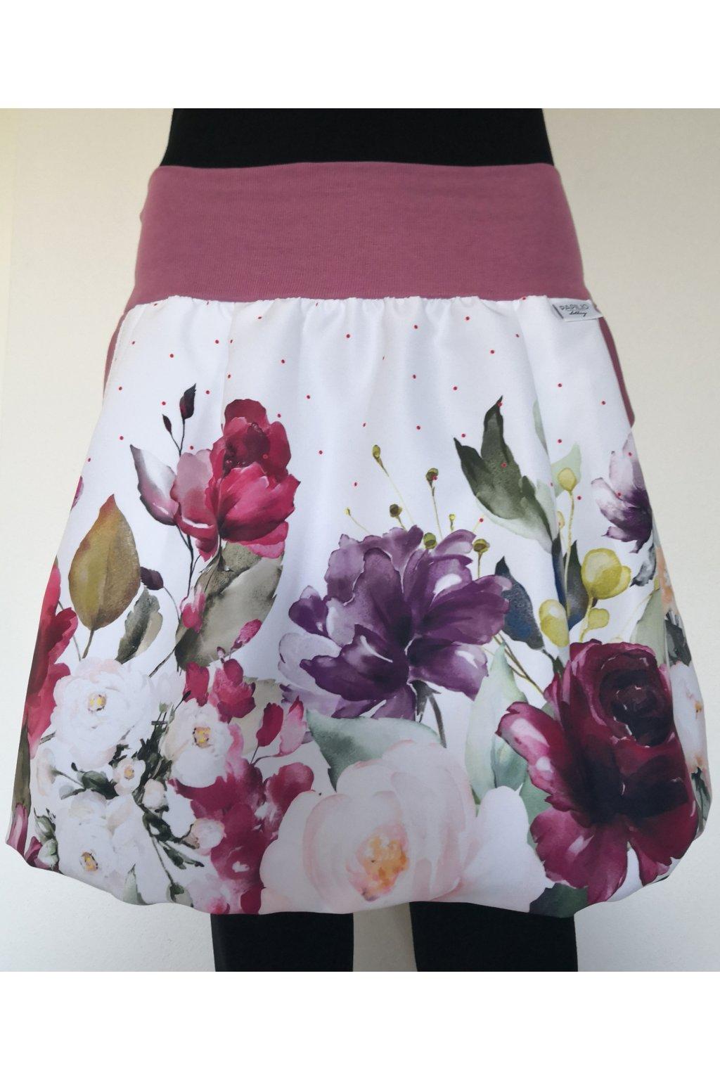 balonova sukne kvetinova papilio clothing (1)