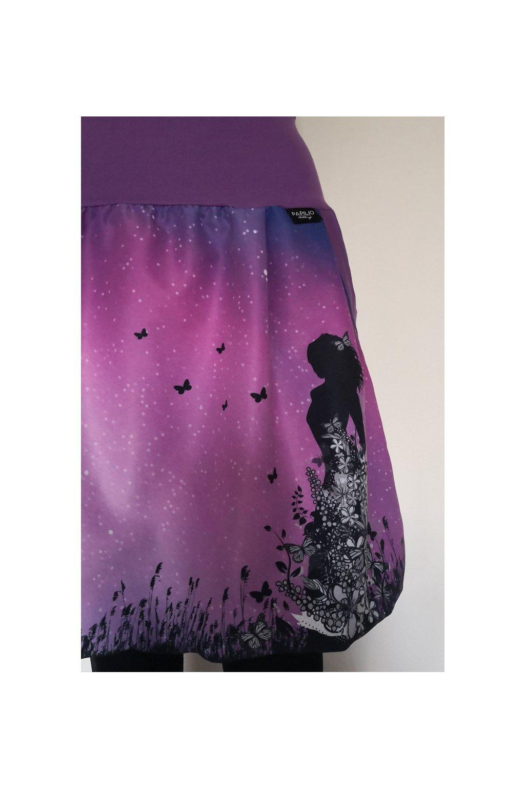 Balonová sukně Motýlí víla | micropeach