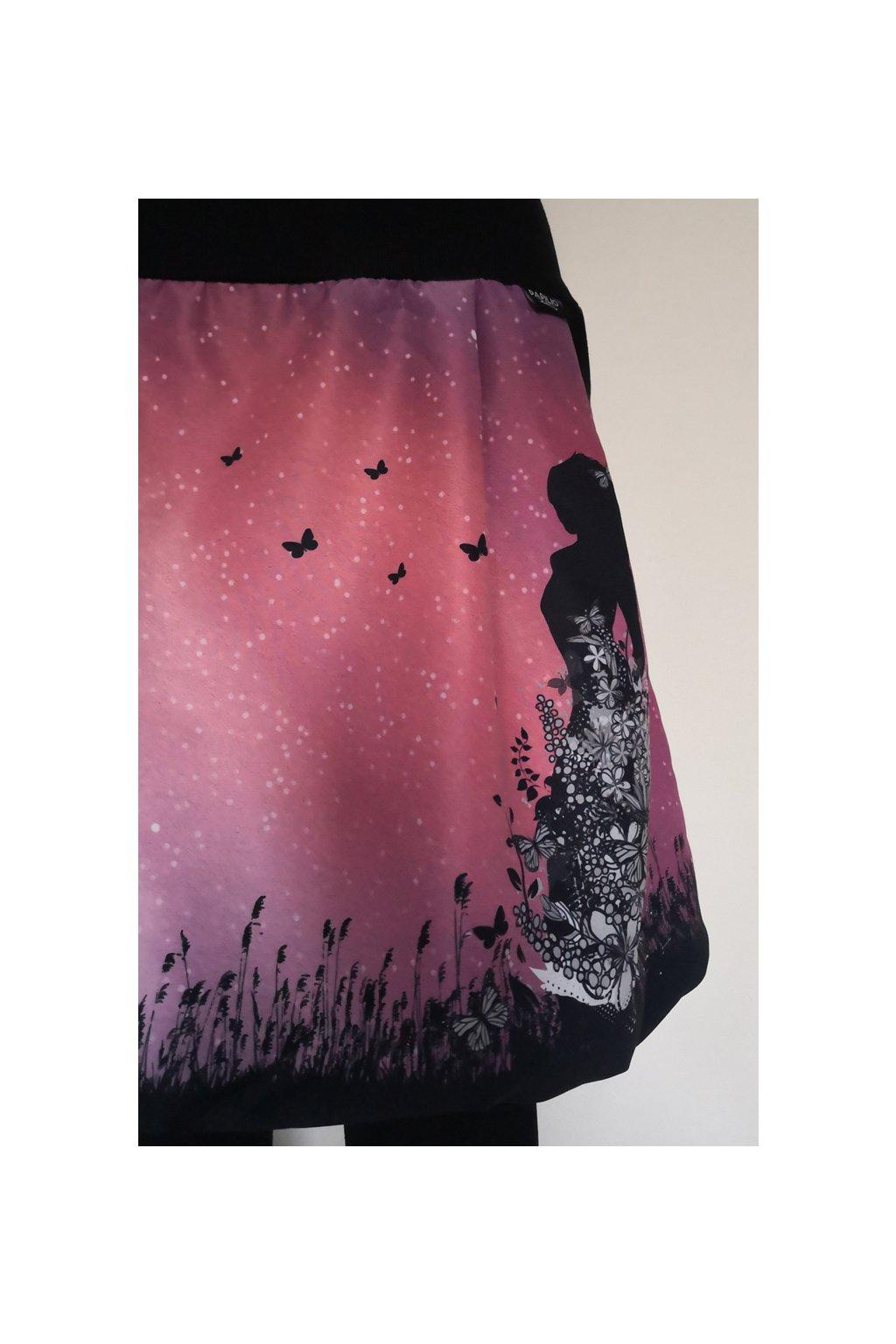 Balonová sukně Motýlí víla II. | micropeach