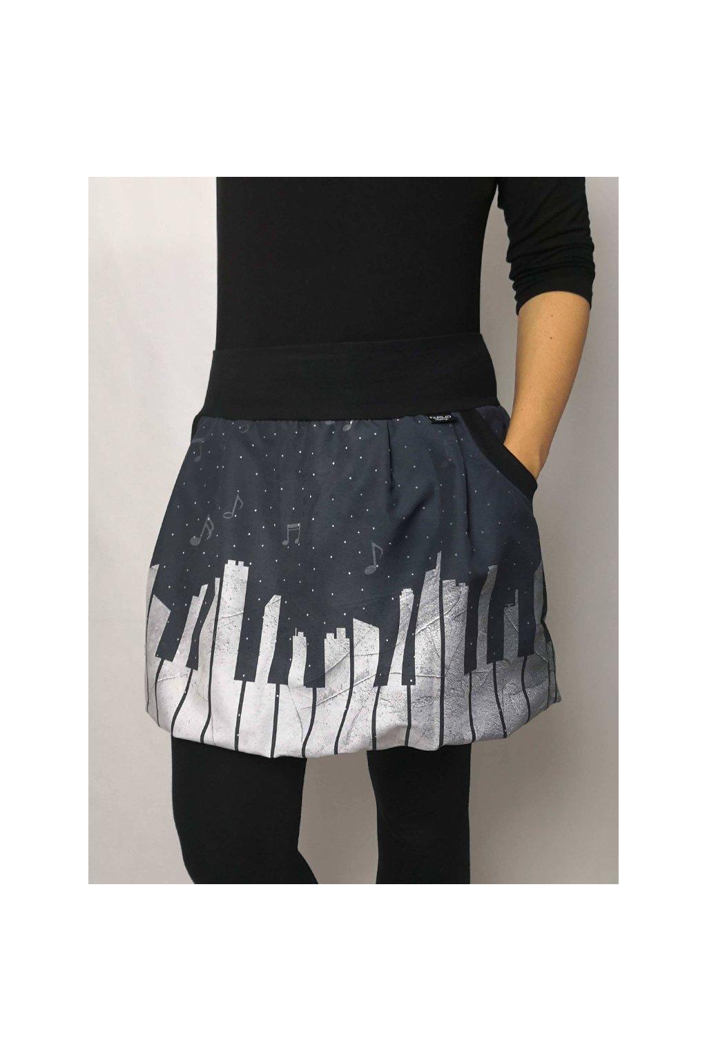 Balonova sukne klaviatura papilio clothing