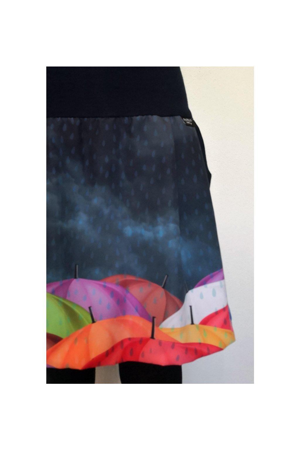 SKLADEM - Balonová sukně Kamarádka do deště III. | micropeach