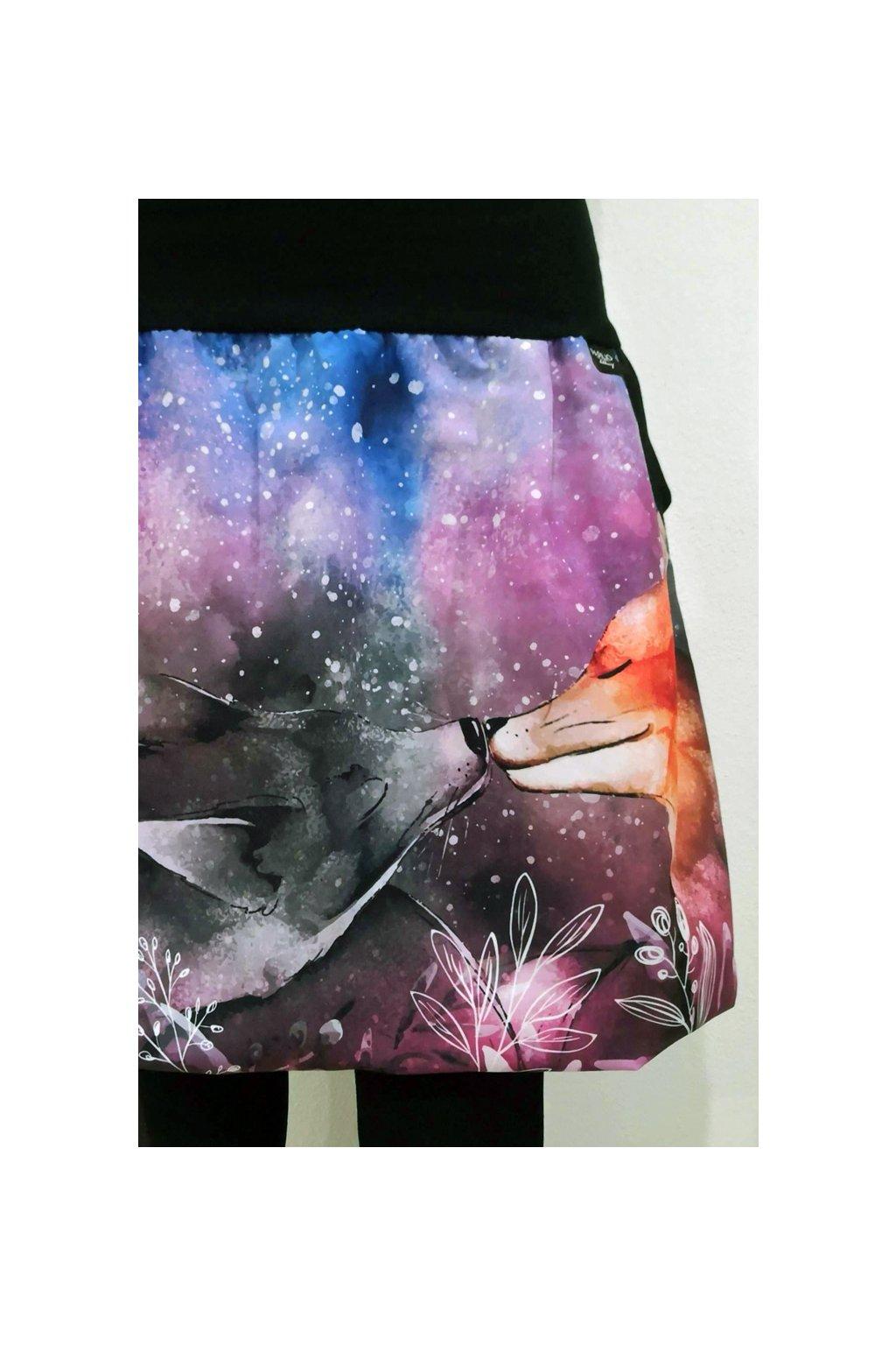 SKLADEM - Balonová sukně Liščí polibek   micropeach