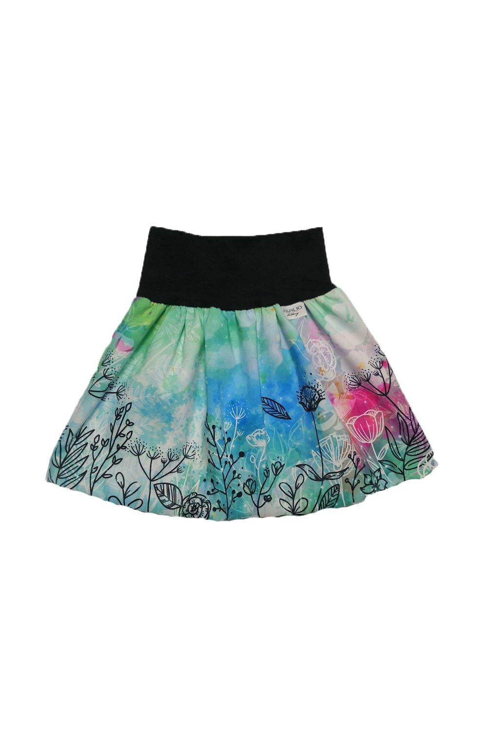 divci balonova sukne mint kvety papilio clothing