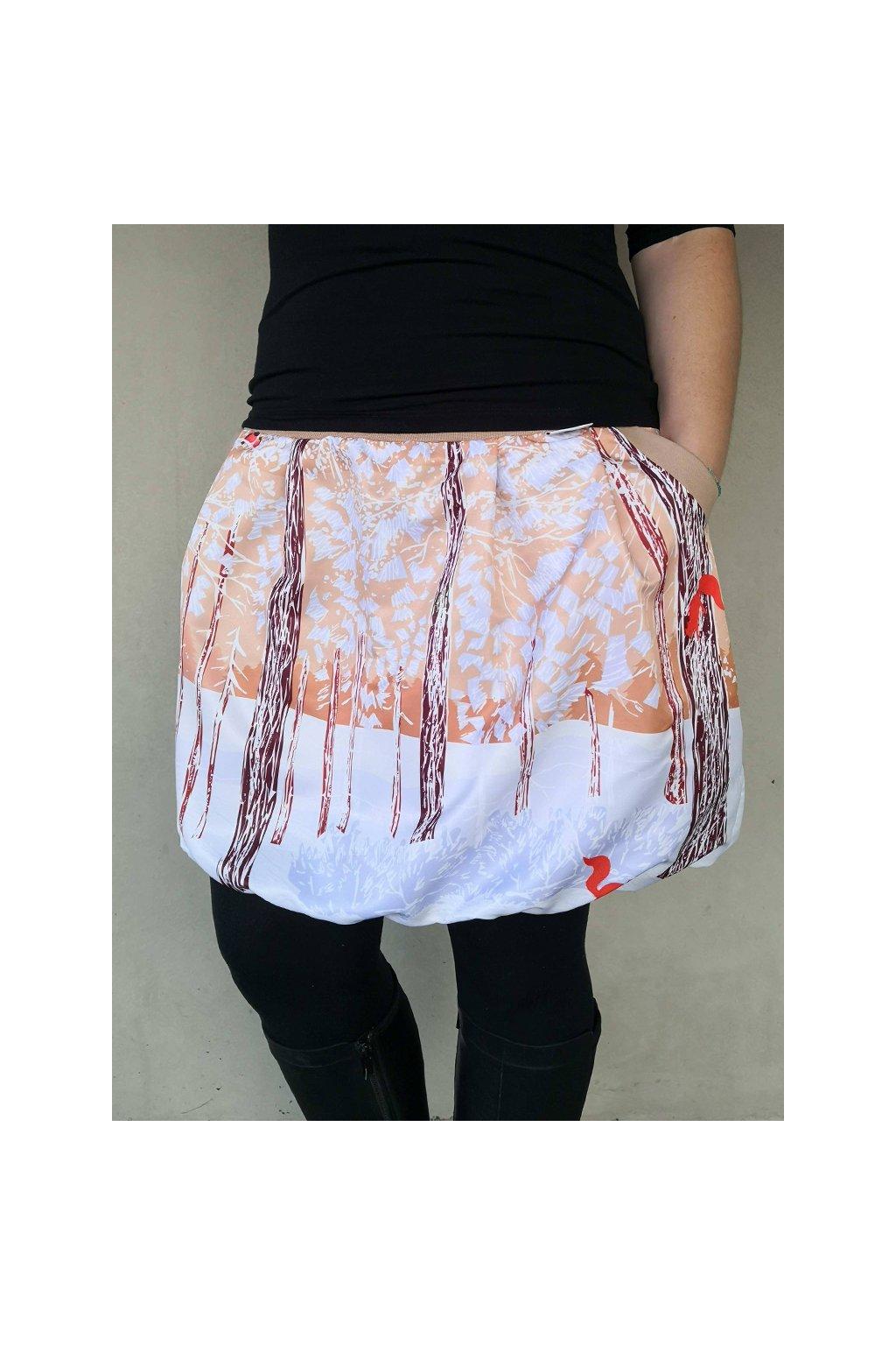 balonova sukne veverky papilio clothing