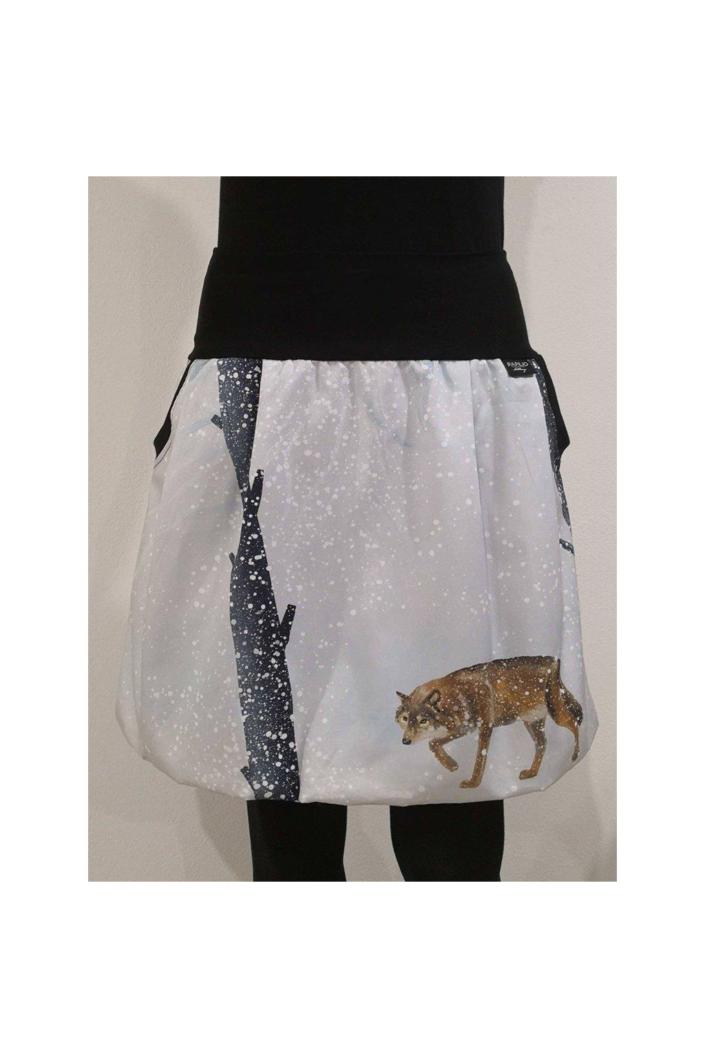 balonova sukne na vlci stezce papilio clothing