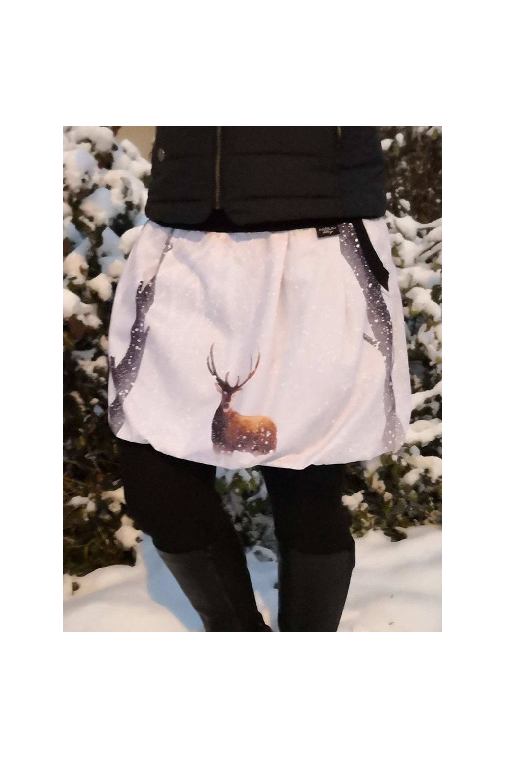 balonova sukne jelen platno papilio clothing
