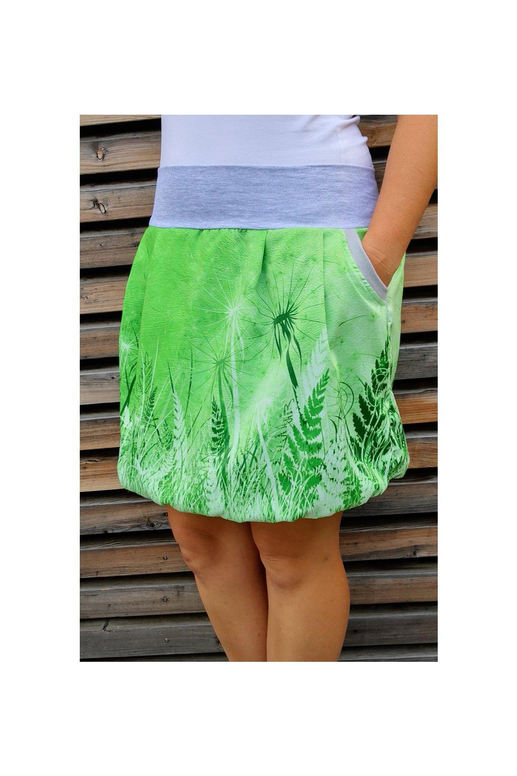 Pampeliška zelená | polyester