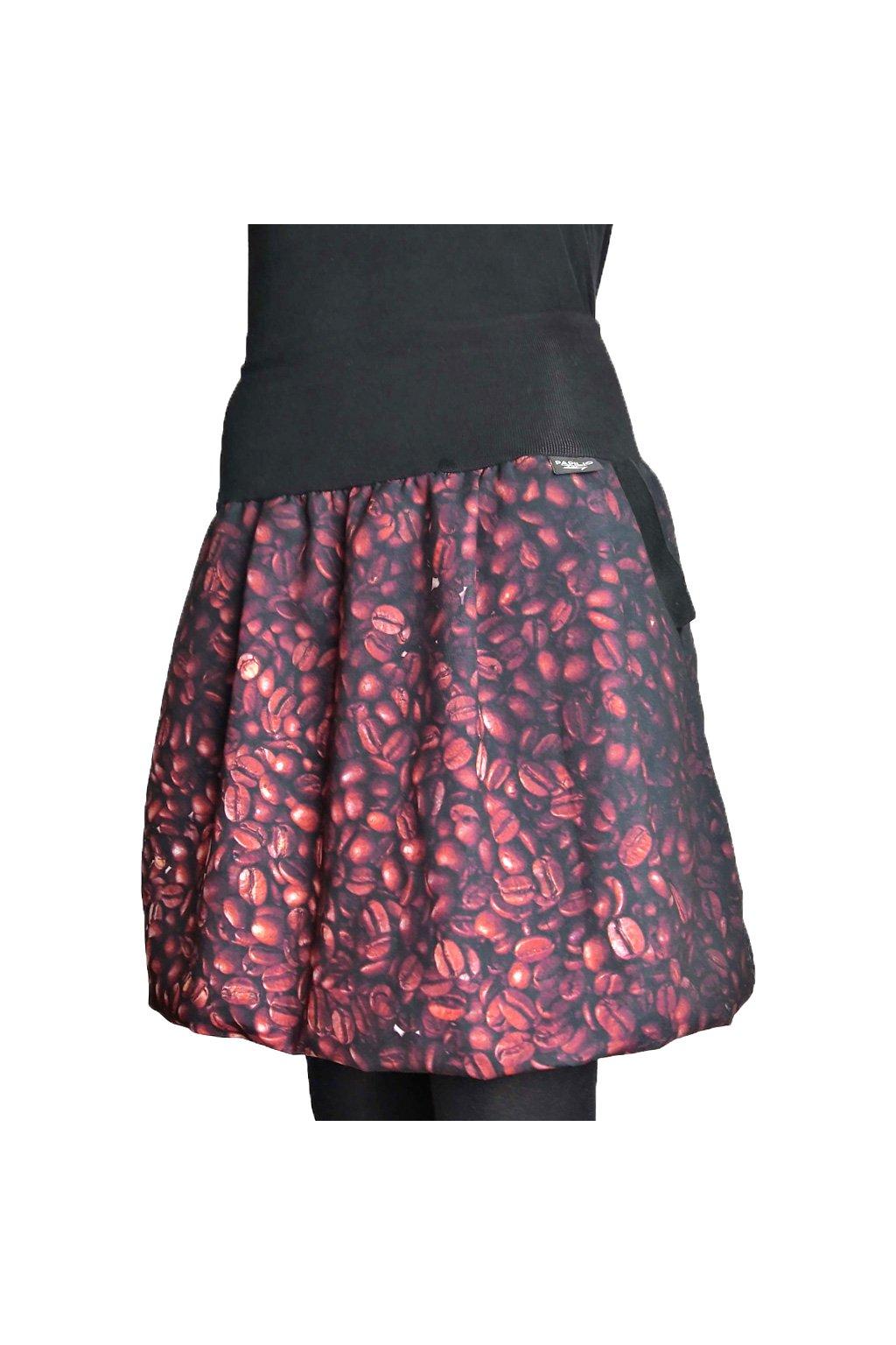 balonova sukne kavova zrna papilio clothing