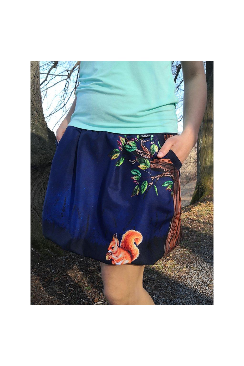 sukne veverka papilio clothing