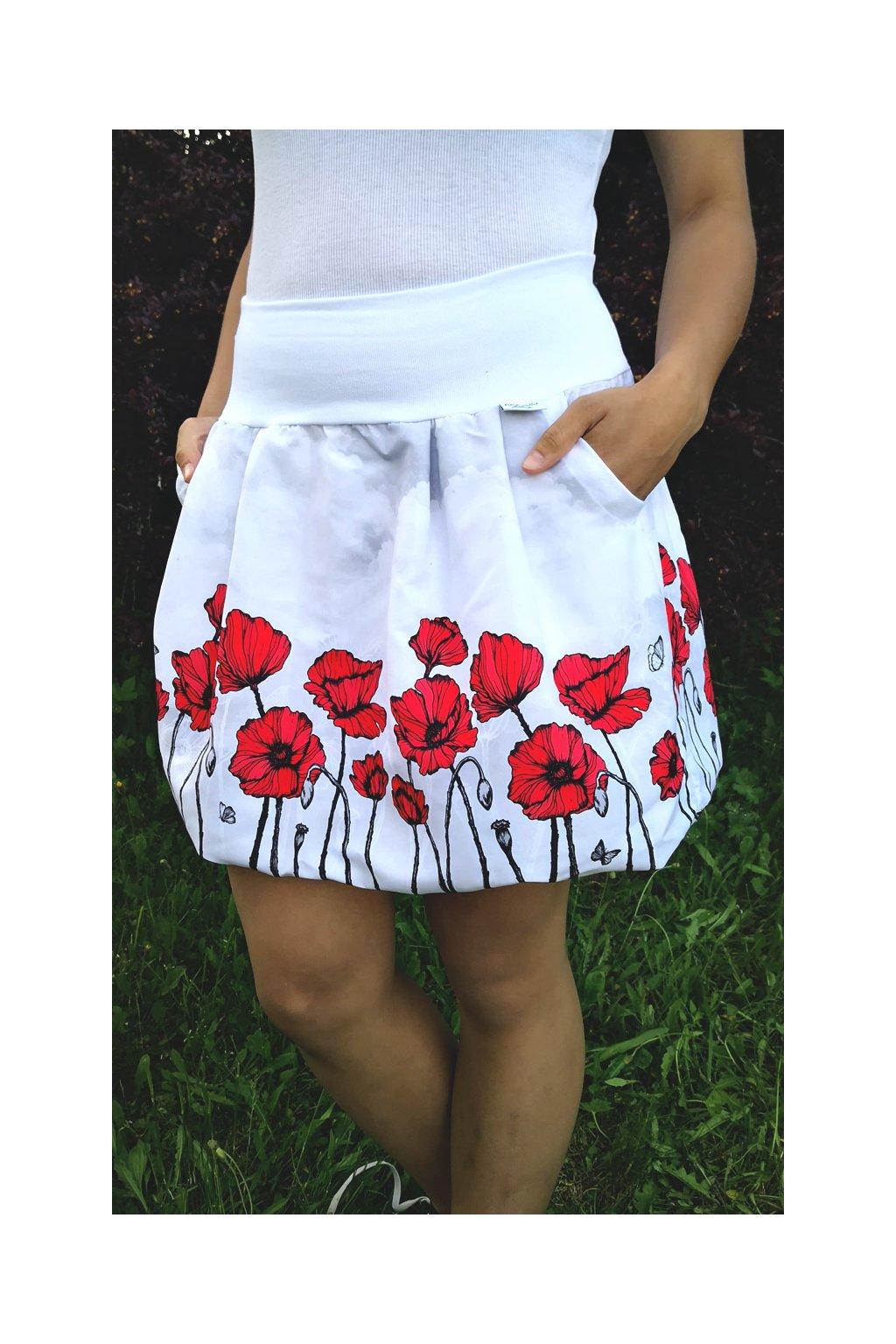 balonova sukne rude maky papilio clothing 3