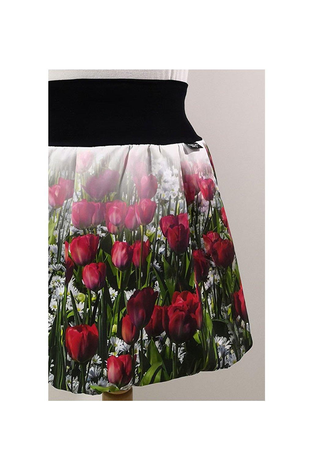 Rudé tulipány   micropeach