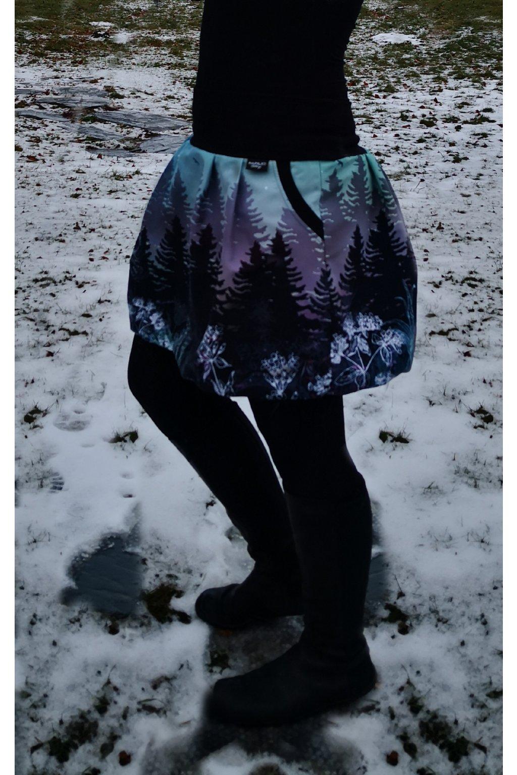 sukne balonova temny soumrak II papilio clothing