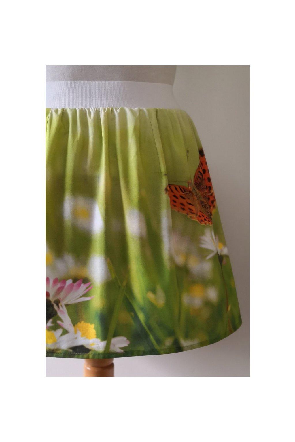 Áčková sukně Sedmikráska | polyester