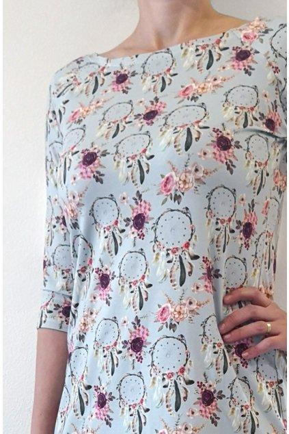 Šaty Lapače snů | úplet