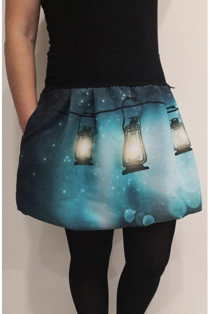 SKLADEM - balonová sukně Lucerny | micropeach