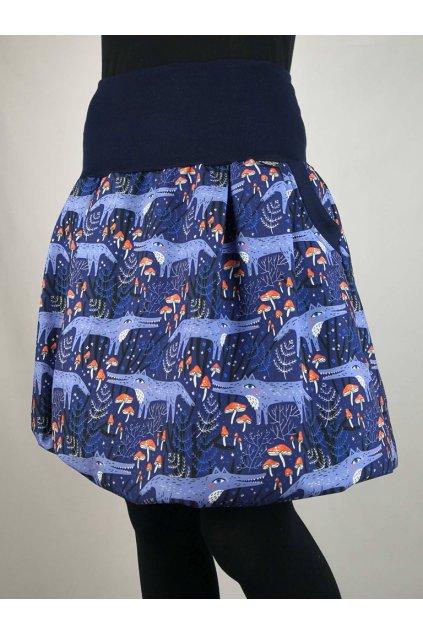 balonova sukne vlci papilo clothing