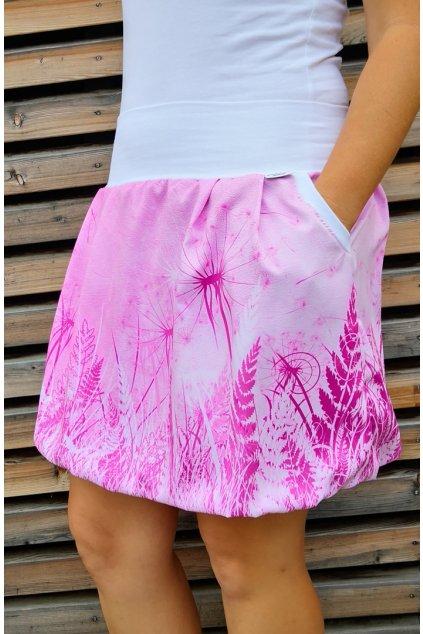 Pampeliška růžová | polyester