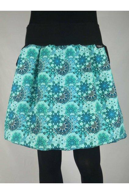 balonova sukne mandaly tyrkysove papilio clothing