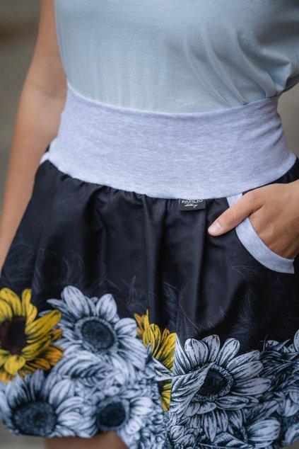 Balonová sukně Slunečnice II.   micropeach