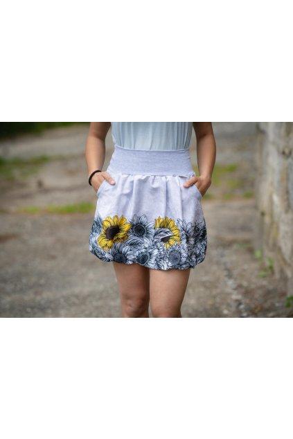 Balonová sukně Slunečnice | micropeach